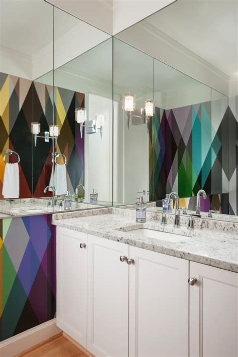 circus bathroom bold bathroom colors that make a statement hgtv s