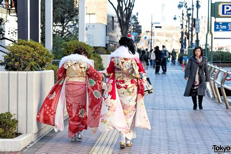 day in japan coming of age day in japan 2015 kimono pictures