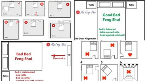feng shui bed placement tips for the bedroom