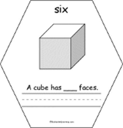 Cube Enchantedlearning - the number six book faces on a cube enchantedlearning