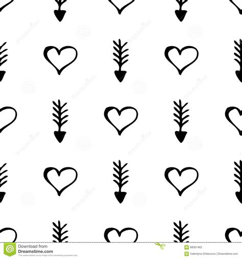 imagenes de corazones simples modelo incons 250 til del vector fondo blanco y negro simple