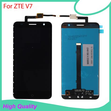Lcd Zte V815 Gojek Ori 100 100 original quality for zte blade v7 lcd display touch screen mobile phone lcds with free