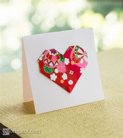 Origami Valentines Day - five easy origami hearts s day origami go
