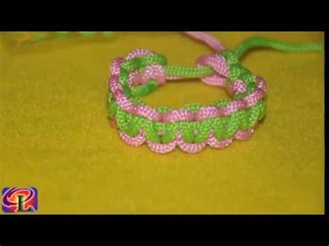membuat gelang makrame cara membuat gelang cantik dari tali kur youtube