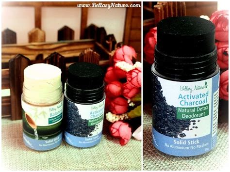 Odor Detox From by Activated Charcoal Deodorant 10g For Nighttime