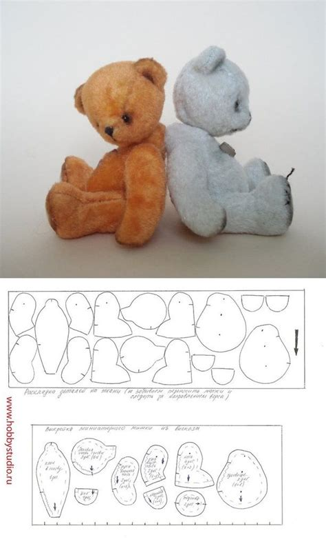 17 best ideas about teddy sewing pattern on