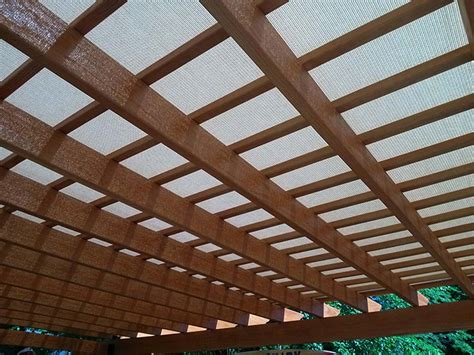 Custom Fabricated Pergola Covers Canvas Pergola Cover