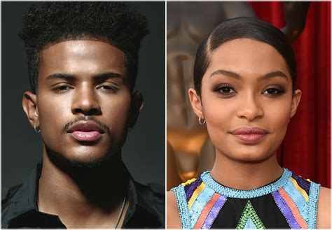 trevor jackson look alike trevor jackson cast opposite yara shahidi in abc s black