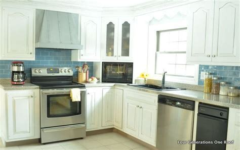 small kitchen makeovers casual cottage our modern cottage kitchen makeover cottages pop of