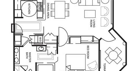 hilton grand vacation club seaworld floor plans one bedroom floor plan for hilton grand vacations club at