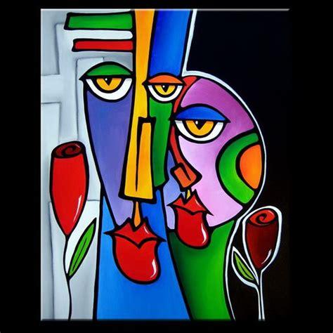 imagenes rostros abstractos pintura moderna y fotograf 237 a art 237 stica cuadros