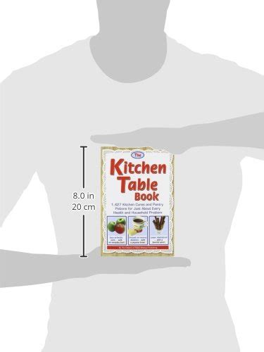 kitchen table book the kitchen table book 1 427 kitchen cures and pantry potions for just about every health and