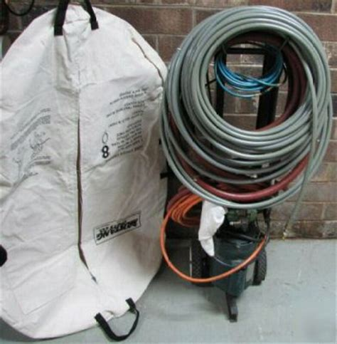 mustang grease sludge water jetter sewer cleaner pipe