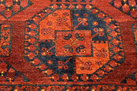 Elephant Foot Rug Design by Antique Turkmen Ersari Elephant Foot Design Turkmen Rug