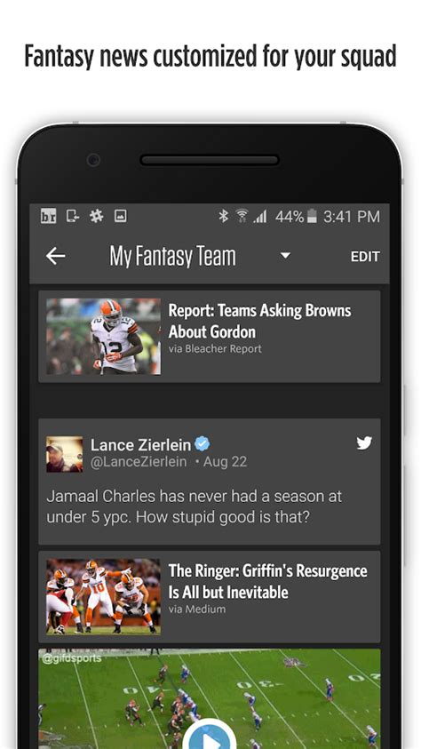 bench report app bleacher report team stream android apps on google play