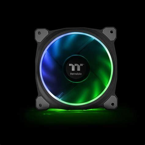 Cube Gaming Ring 12cm Green Led Fan riing plus 14 rgb radiator fan tt premium edition 3 fan pack ttpremium