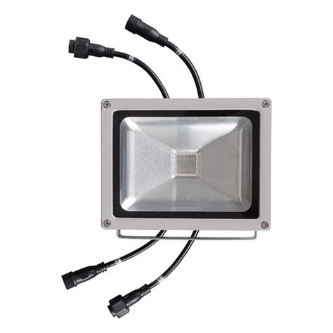 Lu Sorot Led Floodlight 10w Rgb Rubick ultralux spx2410 dmx rgb led floodlight 24v 120 10w ip65