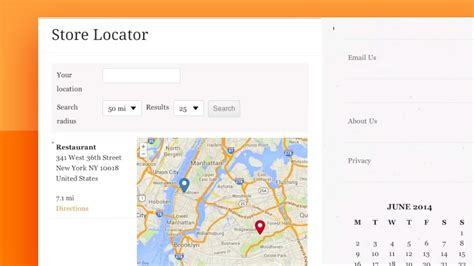 how to add a store locator page in wordpress youtube