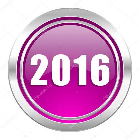 new year symbols 2016 new year 2016 violet icon new years symbol stock photo