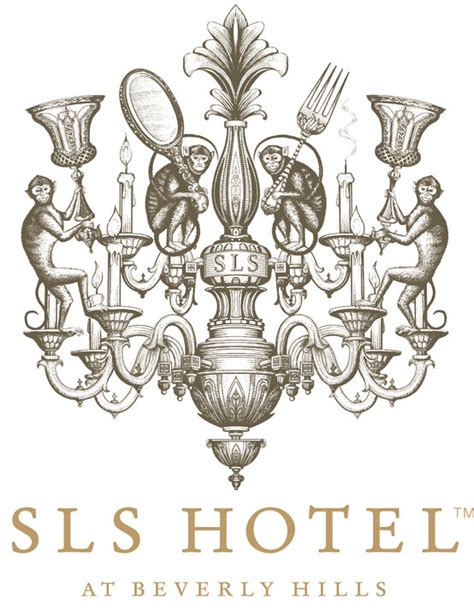 """SLS Hotel"" logo identity at Beverly Hills on Behance"