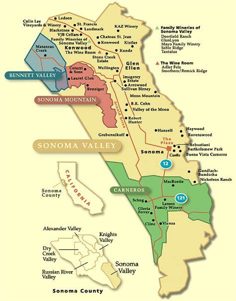 sonoma winery map exploring sonoma wine tickets sun jun 29 2014 at 3 30 pm eventbrite