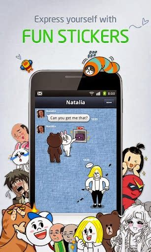line sticker apk line 3 0 2 on a apk format for android