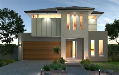 House Plans For Narrow Lots double floor house