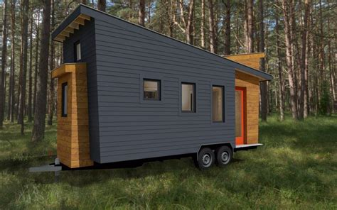 modern tiny house plans tiny house plans released for the model stem n leaf that offers a spacious floor plan