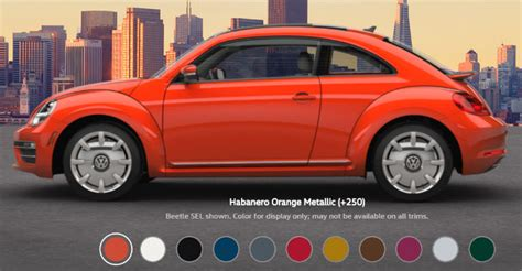 volkswagen beetle colors 2017 volkswagen beetle color options
