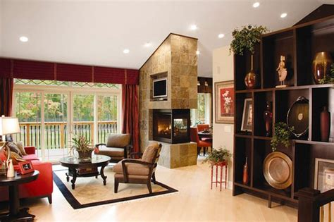 fireplace in dining room instead of living room a hundred fireplace layout ideas for a warm property