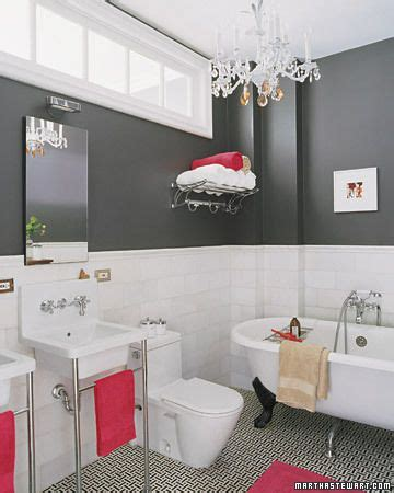 Red And Gray Bathroom - bathroom gray and grey on pinterest