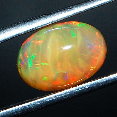 opal color 3 23 cts certified opal vibrant color