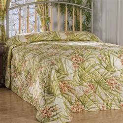 Lightweight Quilts Size Bedroom Sea Island Tropical Bedspreads King Size Bedding