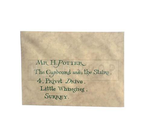 Bank Letter Envelope Harry Potter And The Sorcerer S Hogwarts Invitation Envelope Heroprop