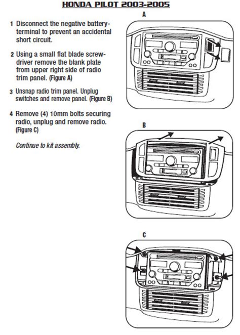 Bracket Hoda 2 5pk 2005 honda pilot installation parts harness wires kits