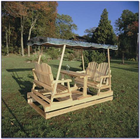 double glider patio swing patios home design ideas