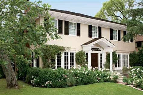 paint color ideas for colonial revival houses colonial