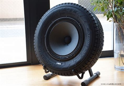 Build Your Own Bedroom Furniture seal recycled tires speaker unique eco friendly musical