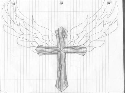 wooden cross with wings by jasoncmoser on deviantart