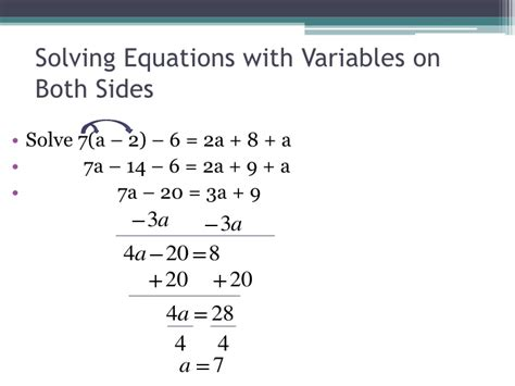 Equations With Variables On Both Sides Worksheet by And Variables On 28 Images Identifying Dependent And