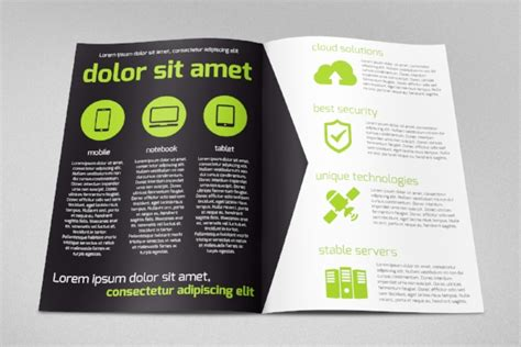 software product brochure template 13 software brochures sle templates