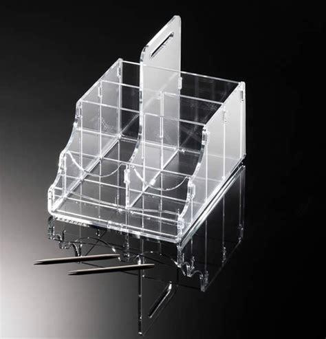bustine per alimenti porta bustine monouso ristorazione in plexiglass