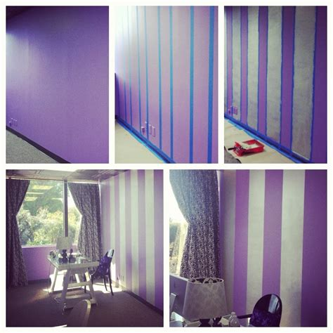 paint on wall painting stripes on a wall our latest office update