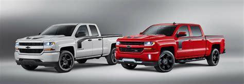 chevy vehicles 2016 2016 chevy silverado special edition trucks