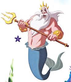 walt disney book images king triton walt disney