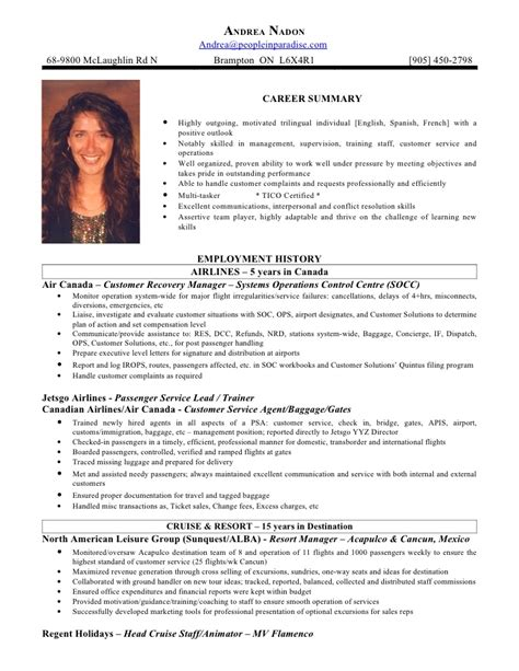 airline customer service agent resume sample airline customer