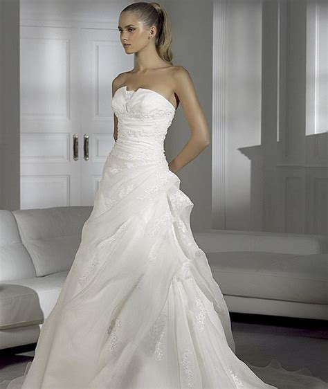 Wedding Dresses 2009 by Pronovias 2009 Preview Collection The Fashionbrides