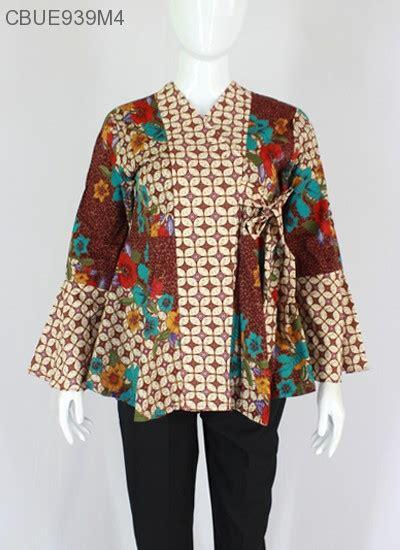 Kawung Blouse by Blouse Blarak Kimono Kawung Blus Lengan Panjang Murah