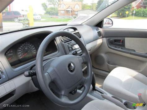 2005 kia spectra ex sedan interior photo 53165814