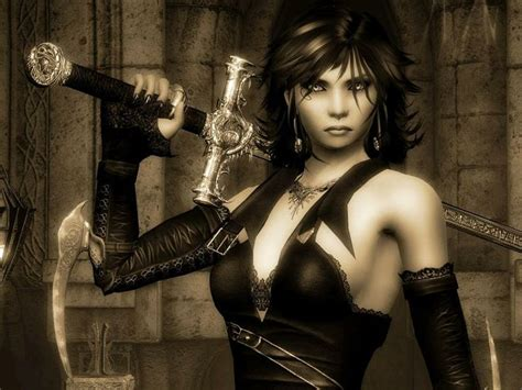 film fantasy gothic sexy goth warrior fantasy female warriors